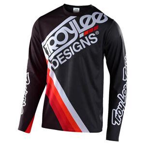 Troy Lee Designs Sprint Ultra Riding Jersey - Tilt Black / Grey