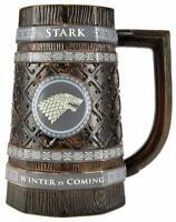 Stark Stein Mug Ceramic - Game Of Thrones Tankards - Wolf - Collectible