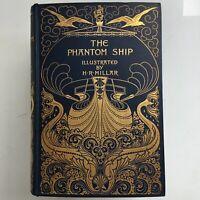 The Phantom Ship by Captain Marryat London 1896 Albert Turbayne cover design