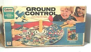 VTG Gabriel Child Guidance GROUND CONTROL Original Box Incomplete-See Desc 1978