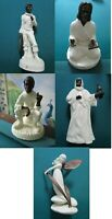 MINTON ENGLAND FIGURINE BRONZE & BONE CHINA PORCELAIN WITH CATALOG PICK1