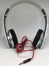 STEREO HEADPHONES DJ STYLE FOLDABLE HEADSET EARPHONE OVER EAR MP3/4 3.5MM WHITE