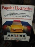 INDIA RARE - POPULAR ELECTRONICS MAGAZINE 1979 [ 3 ] , 1982 [ 1 ] - 4 IN 1 LOT