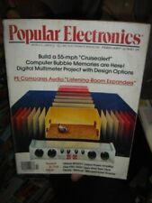 INDIA RARE - POPULAR ELECTRONICS MAGAZINE 1979 [ 3 ] , 1982 [ 1 ] - 4 IN 1 LOT