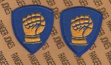 US Army 46th Infantry Division dress uniform patch m/e