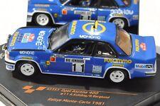 Opel Ascona 400 # 11 Rallye Monte Carlo 1981 - vitesse 1/43