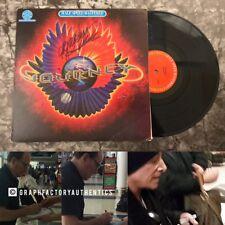 GFA Neal Schon & Aynsley Dunbar * JOURNEY * Signed Record Album PROOF ADM COA