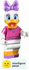dis021 Lego Disney Castle 71040 - Daisy Duck Dark Pink Top Minifigure - New