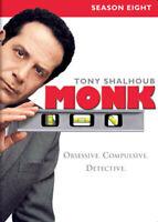 Monk: Season 8 (Eighth Season) (4 Disc) DVD NEW