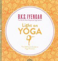 Light on Yoga by B.K.S. Iyengar NEW