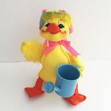 "Annalee Doll Spring Planting Duck 9"" 2008 Garden Flower Bird Easter Summer"