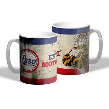 Esso Mug Vintage Car Motorbike Mechanic Oil Can Style Tea Coffee Mug Gift
