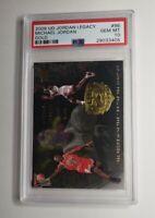 2009 Upper Deck Jordan Legacy Gold Michael Jordan #96 PSA 10 GEM MINT