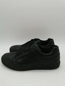 GEOX Respira Men Leather Sneakers Shoes  Size UK 6 EU 39