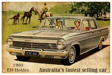 EH  HOLDEN  CAR VINTAGE TIN SIGN 20x 30cm