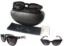 New Versace VW109 Womens Sunglasses Black/Purple+ case
