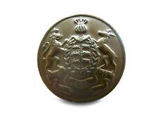 Großer Metall Knopf Königreich Württemberg Militär um 1900 Durchmesser 32 mm