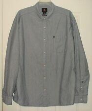 QuikSilver Mens 2XL Long Sleeve Button Down Casual Shirt