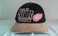 Vintage Detroit Red Wings 1997 NHL Stanley Cup Champs Starter Strapback Hat Cap