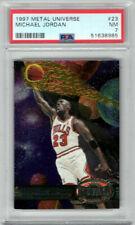 1997-98 Metal Universe #23 Michael Jordan / Bulls / Hall of Fame / NM PSA 7