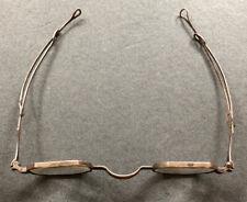 Antique Sterling Silver Optical Eyeglasses Spectacles Frames Hallmark