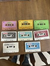 Vintage Cassette Tapes Corky Cricket Big Bird