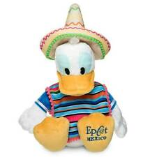 Disney Parks Epcot Mexico Caballero Donald Duck Plush New with Tag