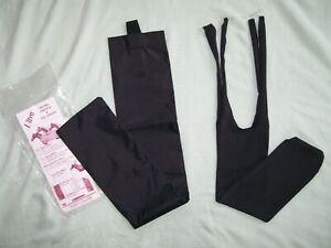 BRAND NEW!  HORSE TAIL BAGS-BLACK-1 SCHNEIDERS-TWO DIFFERENT ATTACHMENT TYPES