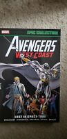 AVENGERS WEST COAST EPIC COLLECTION: LOST IN SPACE-TIME By Steve Englehart rare