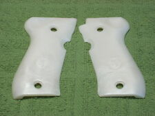 Custom Grips for Browning BDA 380 Pearl White