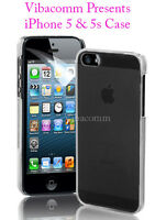 NEW THIN STYLISH FLEXIBLE HARD CRYSTAL CASE COVER GUARD FOR APPLE IPHONE 5S & 5