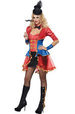 Ringmaster Costume, Womens Fancy Dress - One Size (AU8-12)