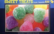 Sweet Treats 'Gum Drops' 500 Piece Interlocking Jigsaw Puzzle NIB