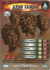 DR WHO ULTIMATE MONSTERS RARE CARD 696 AXON FAMILY