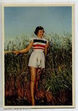 PIN UP Sexy Beach Girl PC circa 1960 Real Photo Italy 38