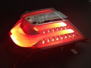 MIT TOYOTA CAMRY AURION 2012-2014 LED tail lamp LEXUS style rear light-RED