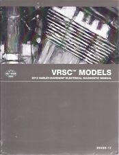 2012 Harley VRSC VRSCDX VRSCF V-ROD VROD Electrical Diagnostic Manual NEW 499-12