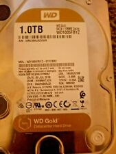 "Western Digital ,1TB Internal 7200RPM 3.5"" (WD1005FBYZ ) HDD, Tested"