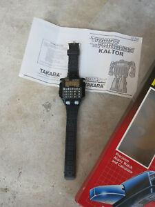 Kaltor Transformer Calculator Robot Watch, New Open Box