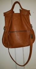 Foley & Corinna Brown Lady Tote Detachable Crossbody Strap Handbag Purse