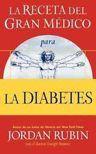 La Receta del Gran Medico Para La Diabetes (Paperback or Softback)