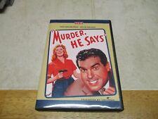 Murder, He Says (DVD, 2014) Movie Fred Macmurray Helen Walker Comedy
