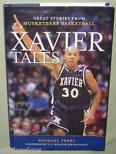 XAVIER TALES 2008 Book SIGNED x 5 Former Players NCAA Basketball MUSKETEERS