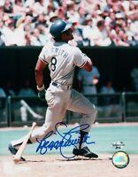 Reggie Smith Signed 8X10 Photo Autograph LA Dodgers Power Swing Big Auto COA