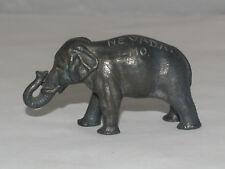 ANTIQUE METAL FIGURAL PAPERWEIGHT ELEPHANT SOUVENIR NEVADA MO MISSOURI