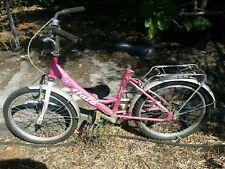 Bici bicicletta Atala rosa donna gomme nuove leggeri difetti estetici