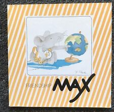 Friendship Max by Hanne Turk Max the Mouse series Picture Book 1985 paperback