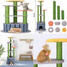 New listing skonhed Cat Climbing Frame Sisal Scratching Post Funny Toys Tree...