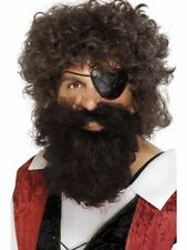 Smiffys Pirate Costume Beards Hair