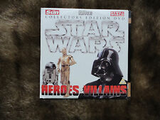 Star Wars:Heroes&Villians.2 Collectors Edition DVD. Sun/News of the World